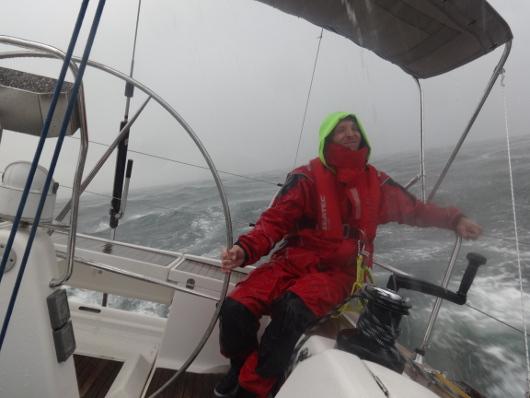5 Minuten Regen auf der Nordsse