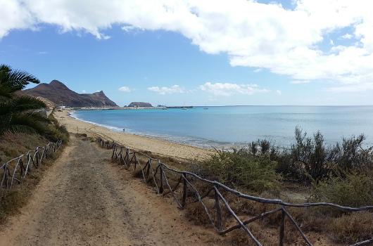 Endlich wird es warm: auf Porto Santo (neben Madeira)